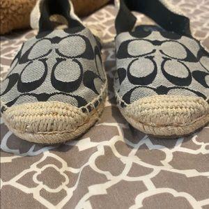 Coach Shoes - signature casual sling espadrille sandal COACH